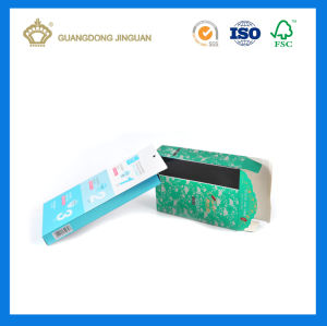 Customized Design Medicine Paper Packaging Box (gold card with UV printing) pictures & photos