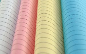 Woven Polyester Woven Anti-Static Cleanroom Fabric pictures & photos
