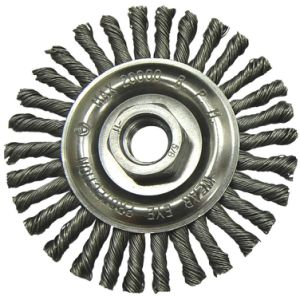 Flat Twist Knot Steel Wire Wheel for Polishing pictures & photos