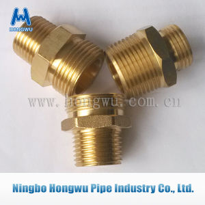 Flare Connection Nicel Plated Pipe Fitting