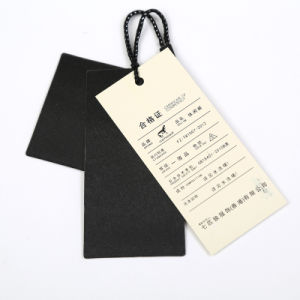 Customized Full Colors Garment Tag Hang Tags Clothing Tag Printing pictures & photos