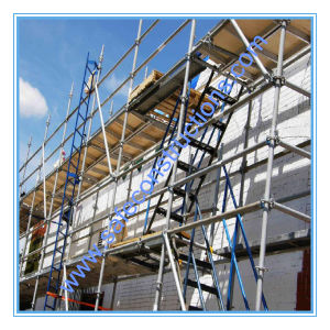 Safe Ce Approved Layher Ringlock Scaffolding for Construction. pictures & photos