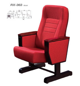 Hard Wearing Fabrice Auditorium Chair Use for Meeting Room (RX-363) pictures & photos