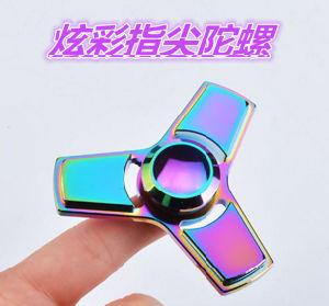 2017 High Quality Relieves Stress and Anxiety Fingertip Gyroscope New Products pictures & photos