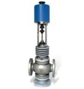 High Temperature Electric Three-Way Diverting Flow Regulating Valve (ZDLX) pictures & photos