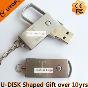 Hot Gift Laser Logo Metal USB Flash Drive (YT-1232-02) pictures & photos