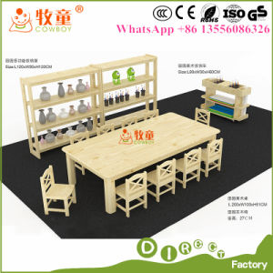 Kindergarten Kids Classroom Furniture/ Writing Table with Chair pictures & photos
