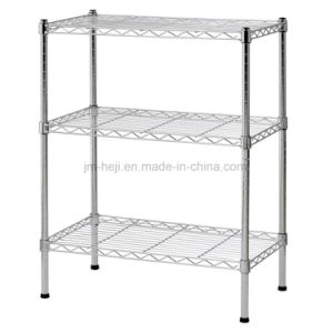 "Wire Shelving with Size 24"" Width X 30"" Height X 14"" Depth, 3 Shelves, Chrome pictures & photos"