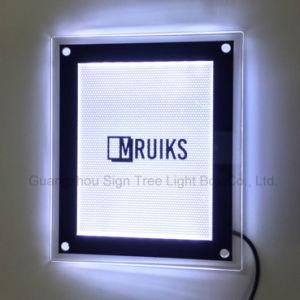 A0 A1 A2 A3 A4 Latest Acrylic Crystal Photo Frame LED Light Box pictures & photos
