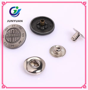 Two Parts Metal Clothing Fasteners for Pants pictures & photos