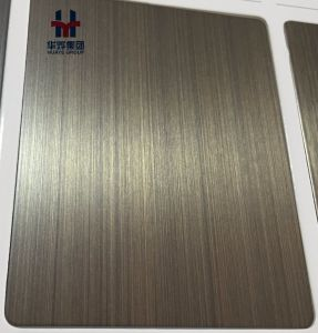 Copper Plated Stainless Steel Sheets Decorative Plate Bronze pictures & photos