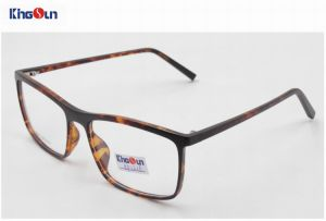 Tr90 Frame with Acetate Temple Optical pictures & photos