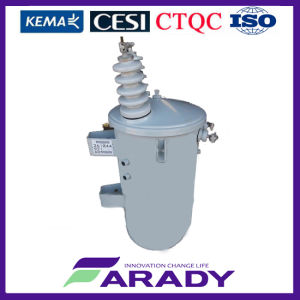 10kVA Oil-Immersed Single Phase Distribution Transformer pictures & photos