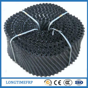 Deep Wave Height PVC PP 250mm 300mm Circle Wave Cooling Tower Fill pictures & photos