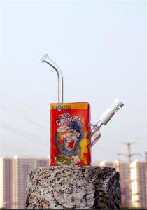 Glass Pipes Cereal Box Smoking Glass Water Pipes pictures & photos