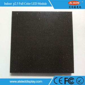 Indoor Full Color Advertising HD P2.5 LED Module pictures & photos
