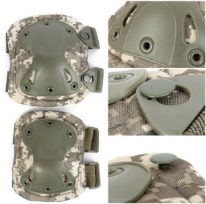 Outdoor Camouflage Sport Knee Elbow Protective Pads Hunting Airsoft Hot pictures & photos