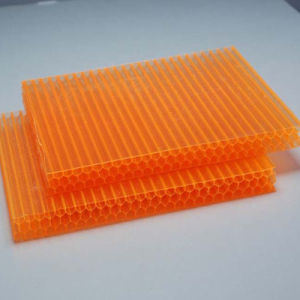Cellular Polycarbonate Sound Proof Sheet Honeycomb Sheet for Greenhouse Roofing pictures & photos