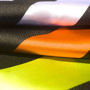 Yarn Dyed Jacquard Chemical Fiber Polyester Fabric for Woman Dress Full Dress Coat pictures & photos