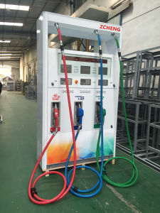 Zcheng Fuel Dispenser Fuel Pump 6 Nozzle Gas Pump Petrol Dispenser New Star Series pictures & photos