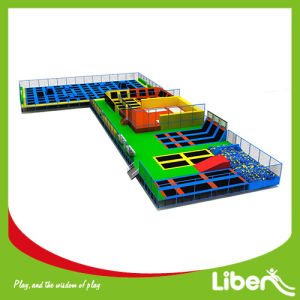 Trampoline Supplier Indoor Trampoline Court Building Indoor Trampoline Place pictures & photos