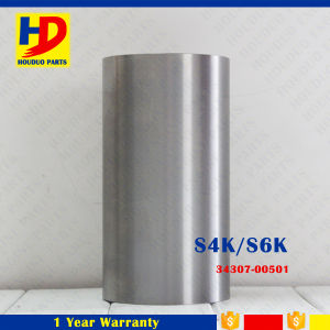 Engine Cylinder Liner S6KT (5L7537 34307-00501) for Caterpillar Excavator Parts pictures & photos