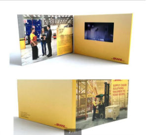 2.4inch-4.3inch Screen Video Invitation Card for Wedding pictures & photos