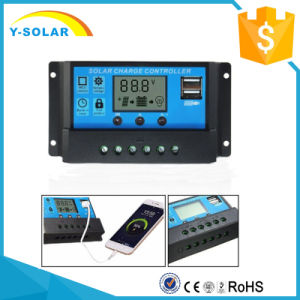 12V/24V 20A Solar Charge Controller with Light+Time Control Cm20K-20A pictures & photos
