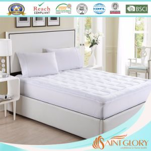Synthetic Hotel Waterproof Hollowfiber Mattress Pad pictures & photos