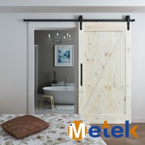 Elegent Beautiful Design Solid Wood Slider Doors pictures & photos