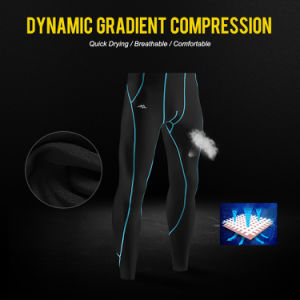 Man Compression Long Tracksuit Bottoms for Sport Wear pictures & photos
