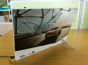 New Arrival Pop Display in Print 10.1′′ips and 7.5′′hd pictures & photos