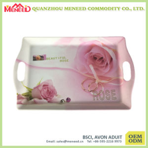 Western Market Melamine Food Tray with Handles pictures & photos