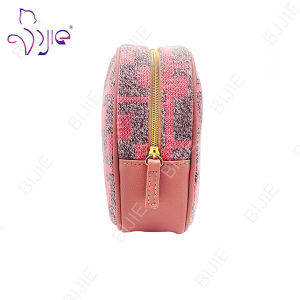 Lady Pink Women Makeup Cosmetic Cases Clutch Organizer Bag pictures & photos