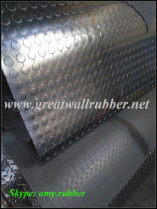 Gw3003 Great Wall China Factory Link Round Button Rubber Mat pictures & photos