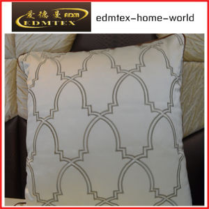 Embroidery Decorative Cushion Fashion Velvet Pillow (EDM0343)