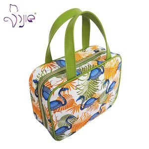High Quality Cotton Printing Cosmetic Hand-Bag