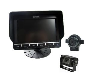 7 Inch Touch Button Monitor with Waterproof Side View Camera pictures & photos
