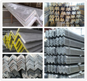Equal and Unequal Hot Rolled Steel Angle pictures & photos