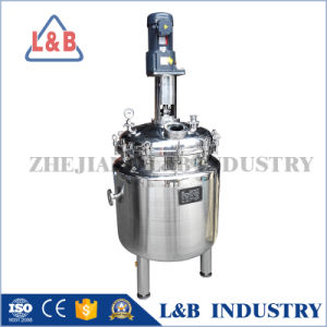 500L Stainless Steel Double Jacketed Reactor Tank pictures & photos