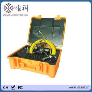 Mini 29mm Self Level Sewer Video Pipe Inspection Camera with 20m to 50m Fiberglass Cable Reel pictures & photos
