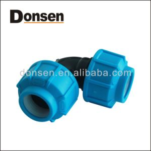 2017 New PP Compression Fittings Elbow Pn10 pictures & photos