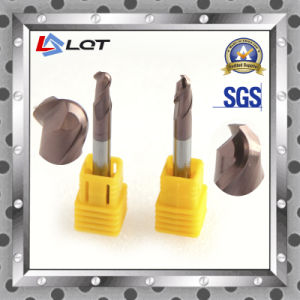 Carbide Ball Nose End Mill with HRC 55 Degree