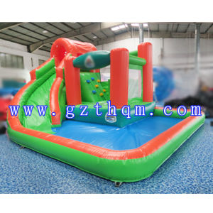 Giant Inflatable Water Slide for Adult/Commercial Giant Inflatable Aqua Wave Waterslide pictures & photos