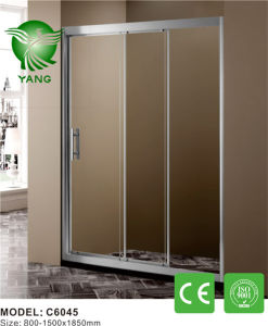 Aluminum Frame Glass Made in China Sliding Shower Enclosure pictures & photos