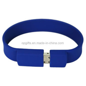 Fashion Silicone Bracelet USB Flash Memory Stick Drive Thumb U Disk pictures & photos