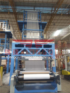 Double Extruder ABA 2 Layers Film Blowing Machine pictures & photos