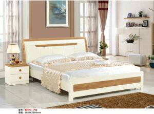 T Series High Quality Modern Bed, Europe Bedroom Furniture Set (T801) pictures & photos