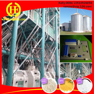 Wheat Maize Corn Rice Sorghum Mill Flour Making Machine pictures & photos