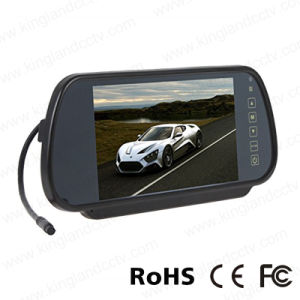7inches Rear View Mirror Monitor with Backup IR Plate Camera pictures & photos
